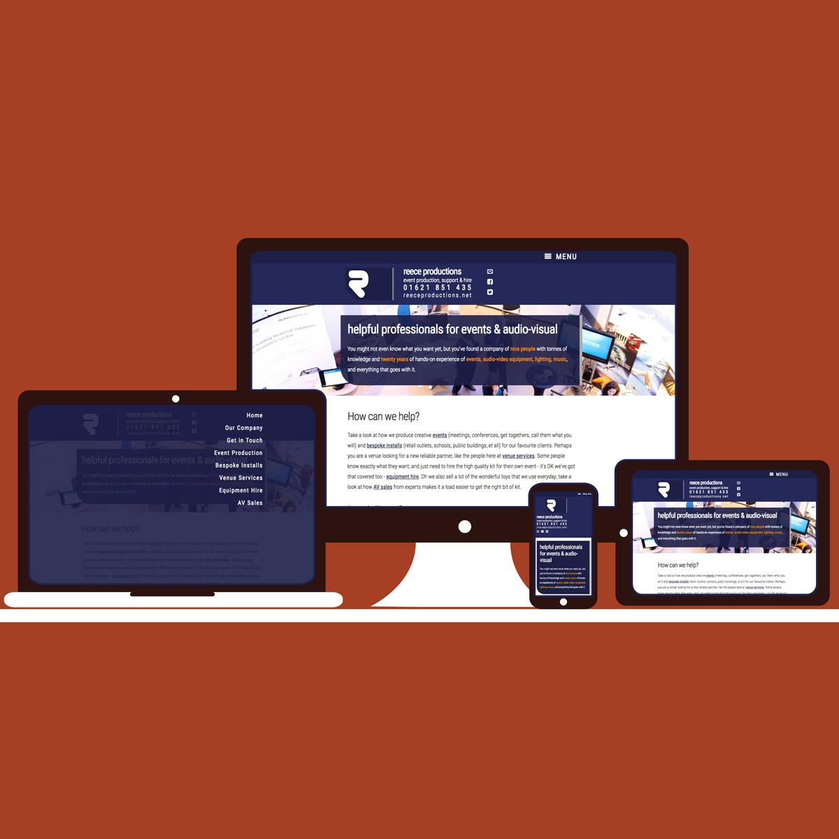 The Digital Moose | Web Design, Graphics, Audio, Video | Reece Productions