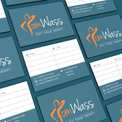 The Digital Moose | Portfolio | Tom Wass Logo Design