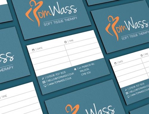 Logo, Business Cards & Website Design – Tom Wass