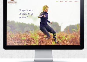 Website Design for Laura Brown | The Digital Moose