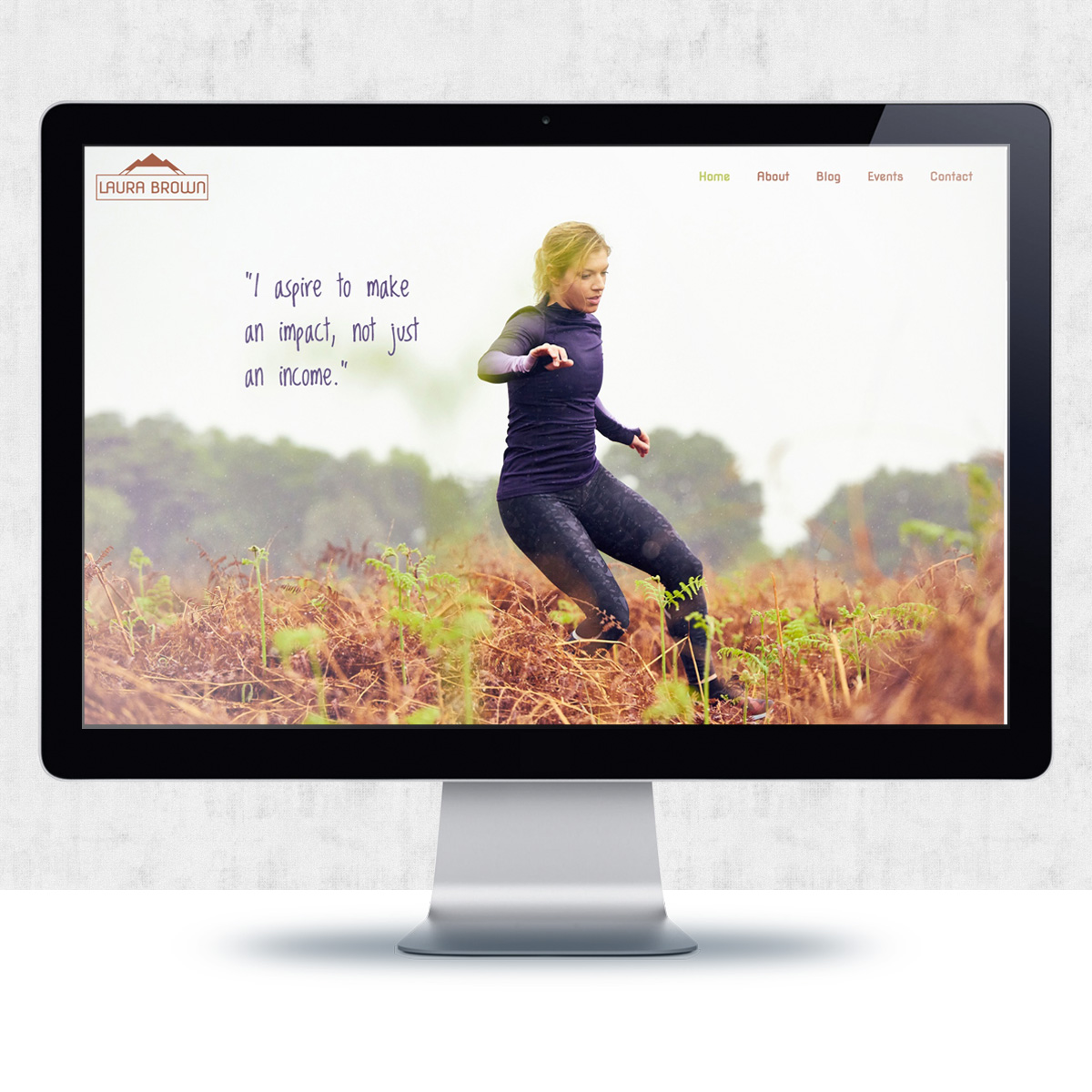 Website Design for Laura Brown | The Digital Moose