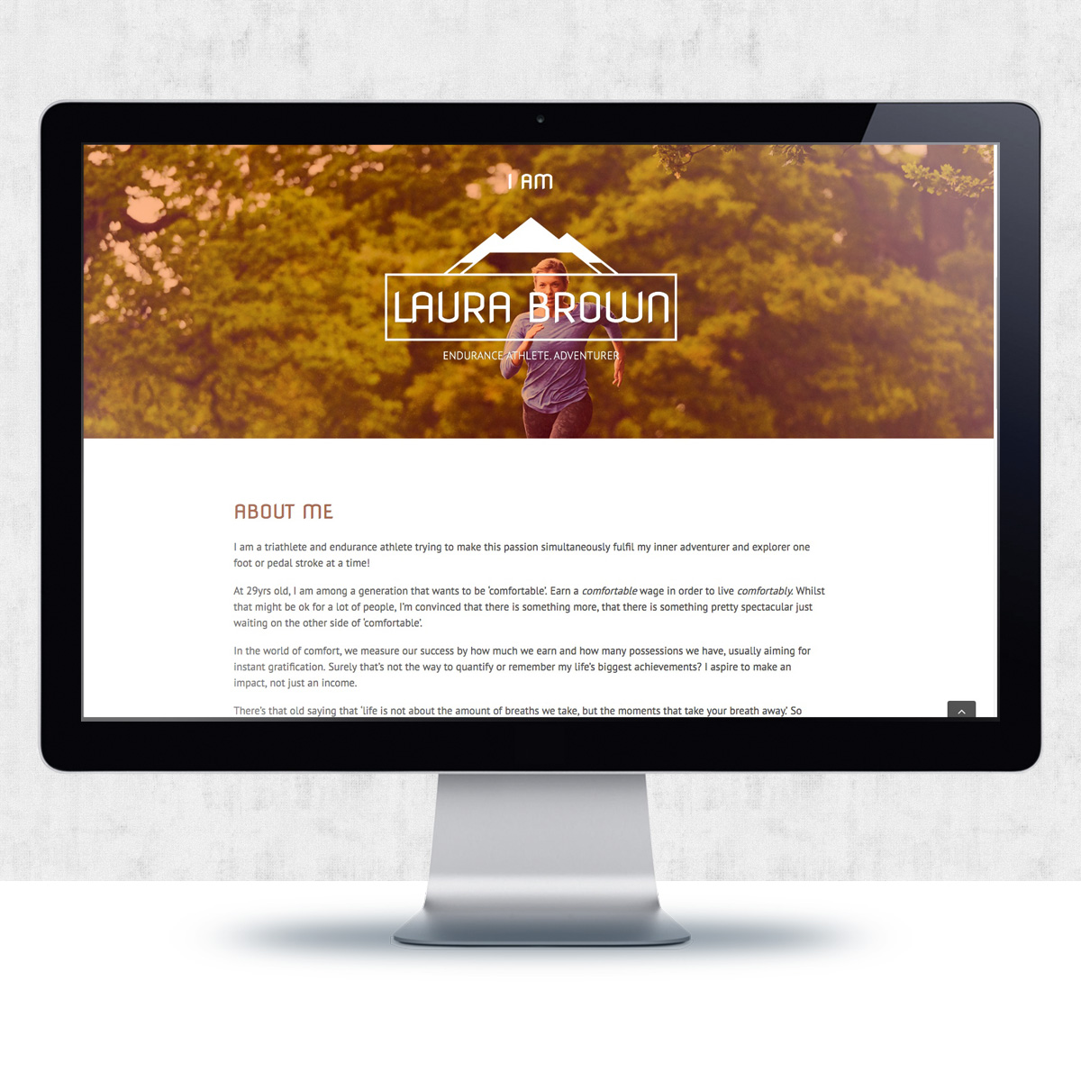 Website & Blog Design for Laura Brown | The Digital Moose