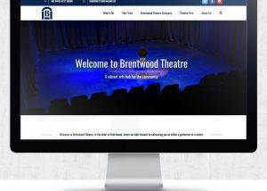 Brentwood Theatre Website Design | The Digital Moose