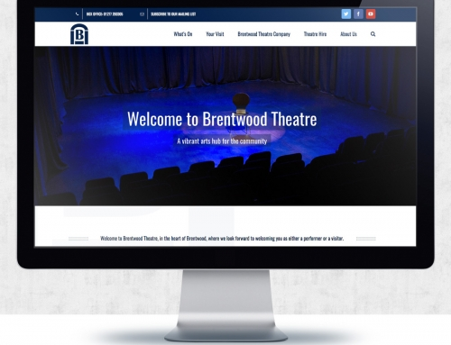 Website Design – Brentwood Theatre