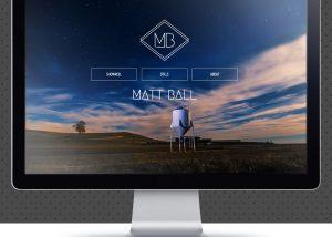 Matt Ball Camera Website Design | The Digital Moose