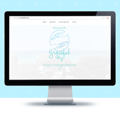 Website Project - Graceful Ki | The Digital Moose