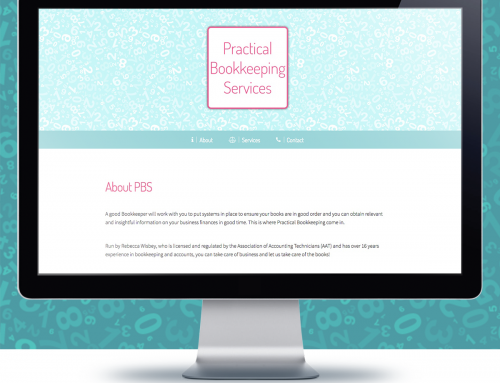 Simple 1 page website – PBS