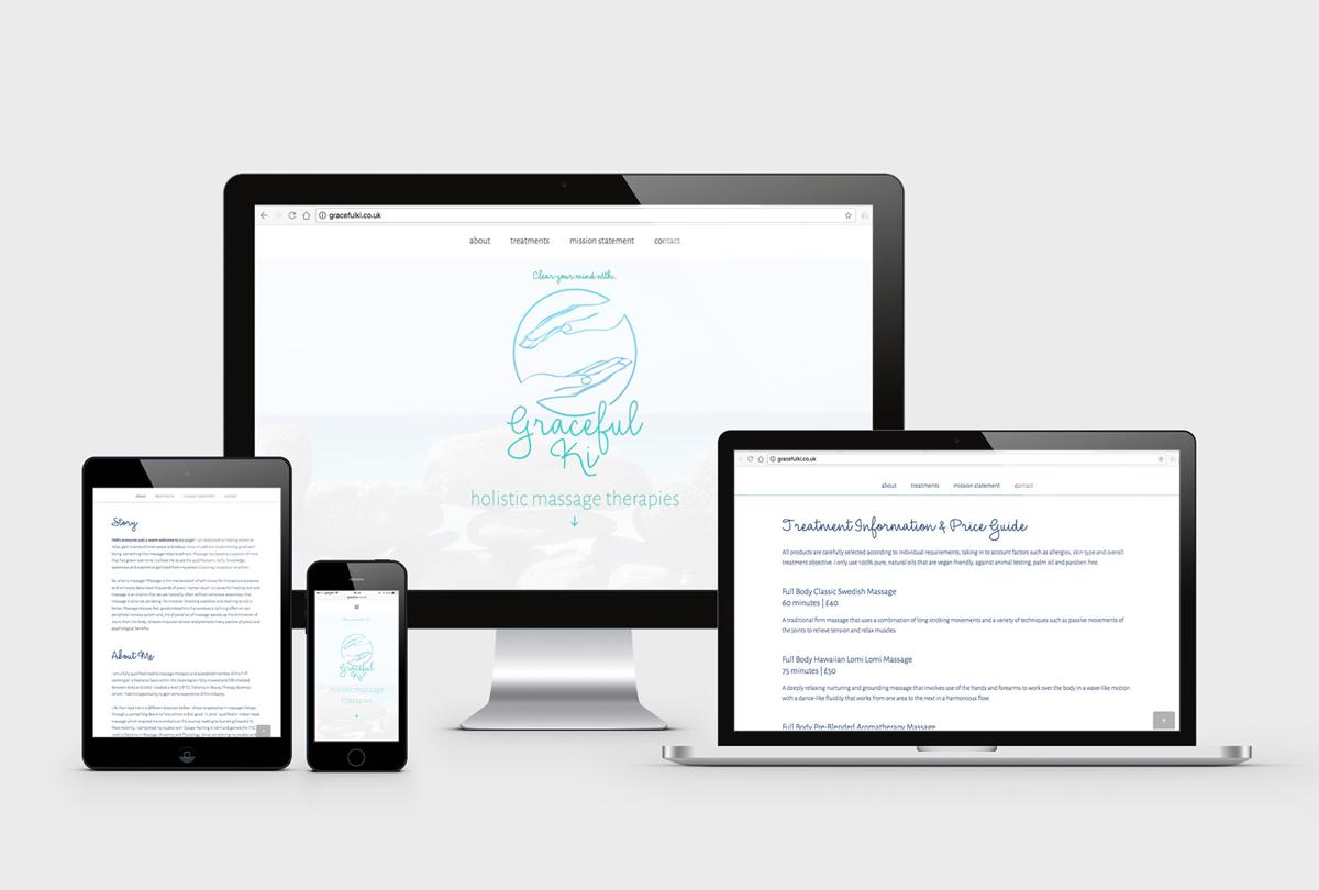 Business Branding - Graceful Ki | The Digital Moose