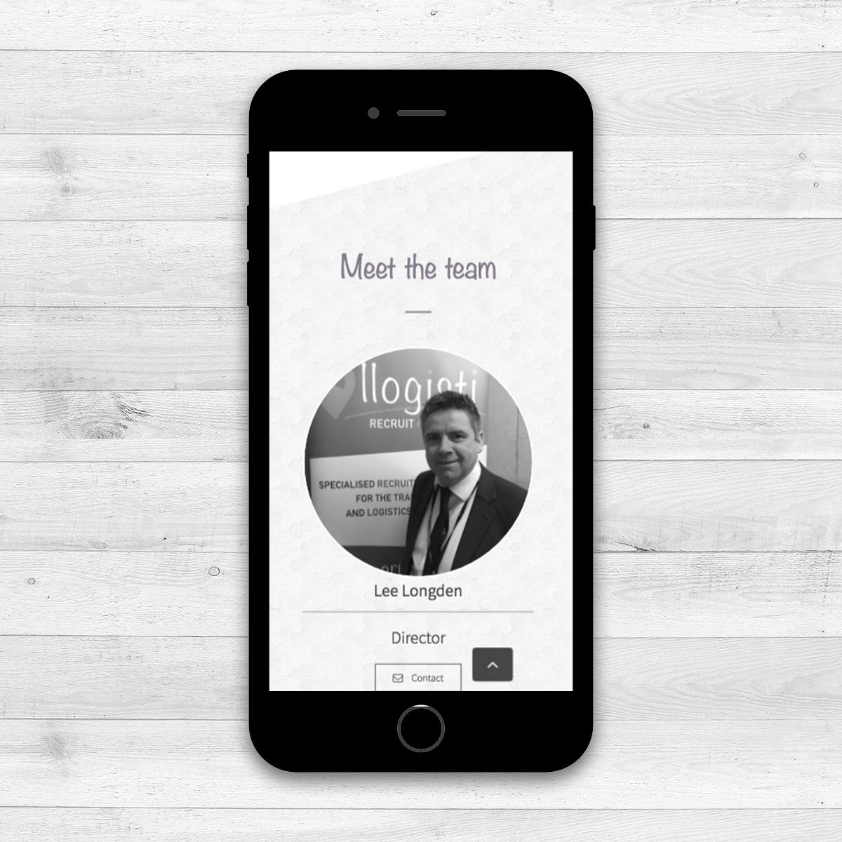 Business Branding - Llogisti Recruit:Consult | The Digital Moose