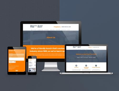 Custom WordPress Website – SEFV.co.uk