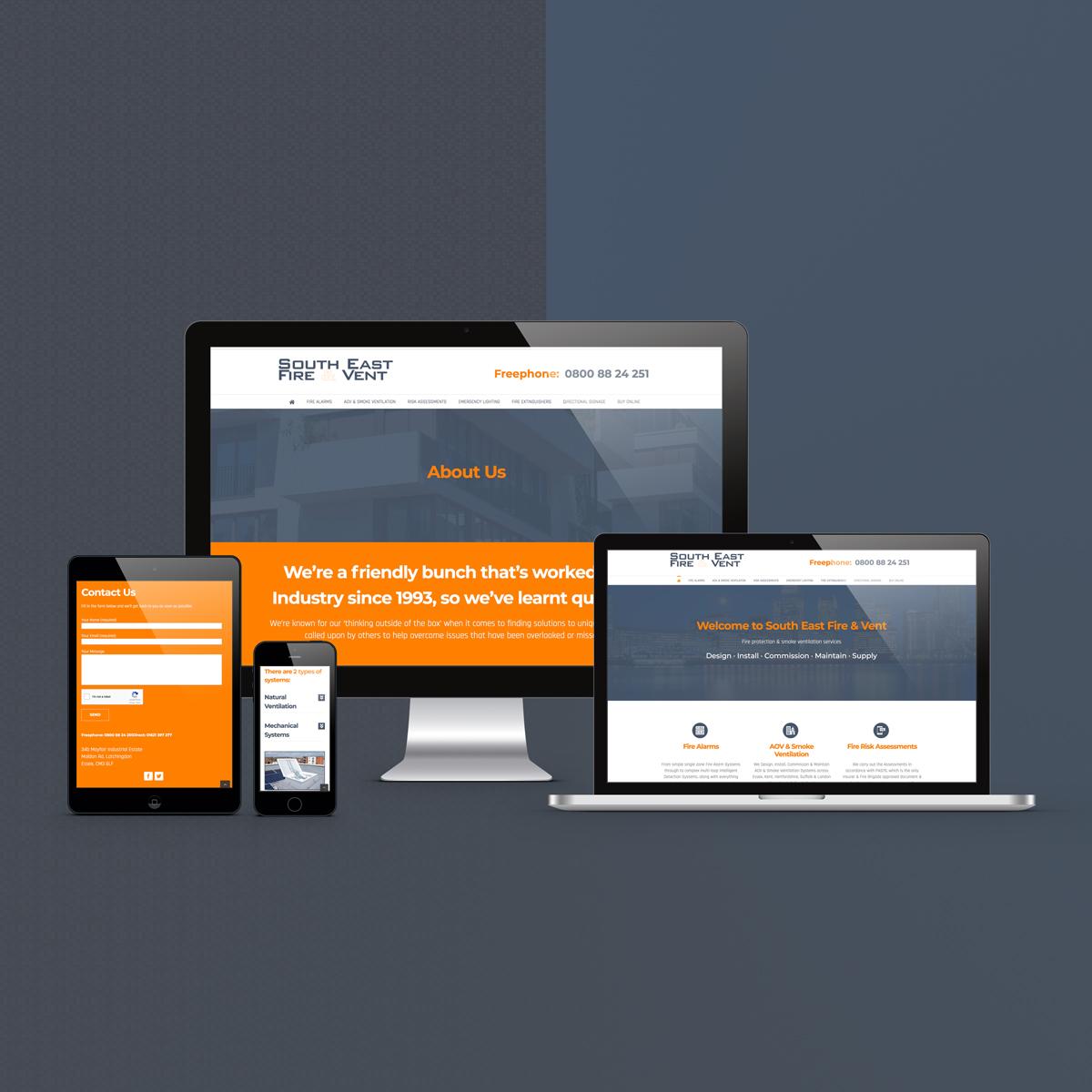 Custom Wordpress Website   SEFV   The Digital Moose