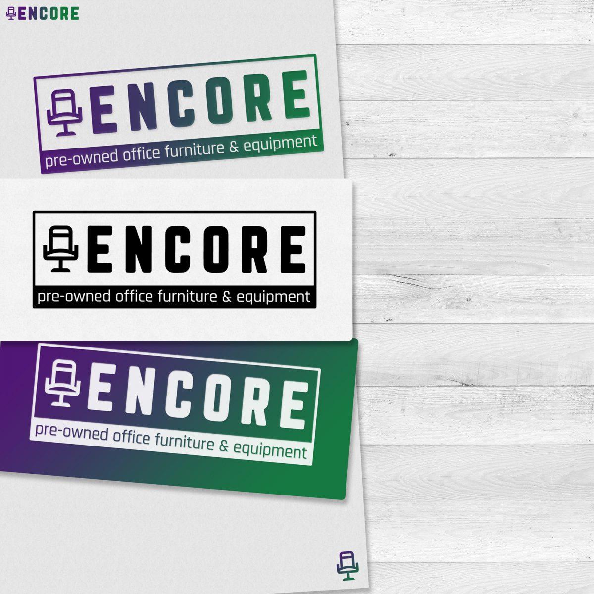 Business re-brand   Encore Furniture   The Digital Moose   Websites, Graphics, Audio, Video   Essex